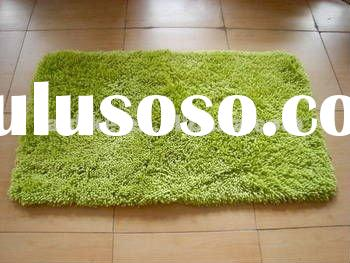Microfiber Bath Mat and Rugs with Latex Backing