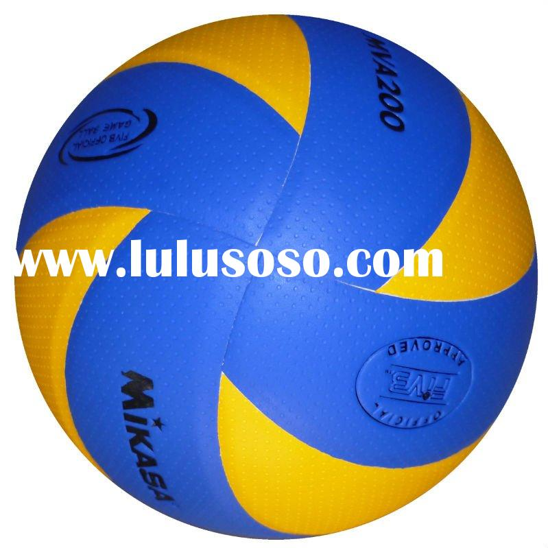 Mikasa volleyball, soft touch volleyball, MVA200