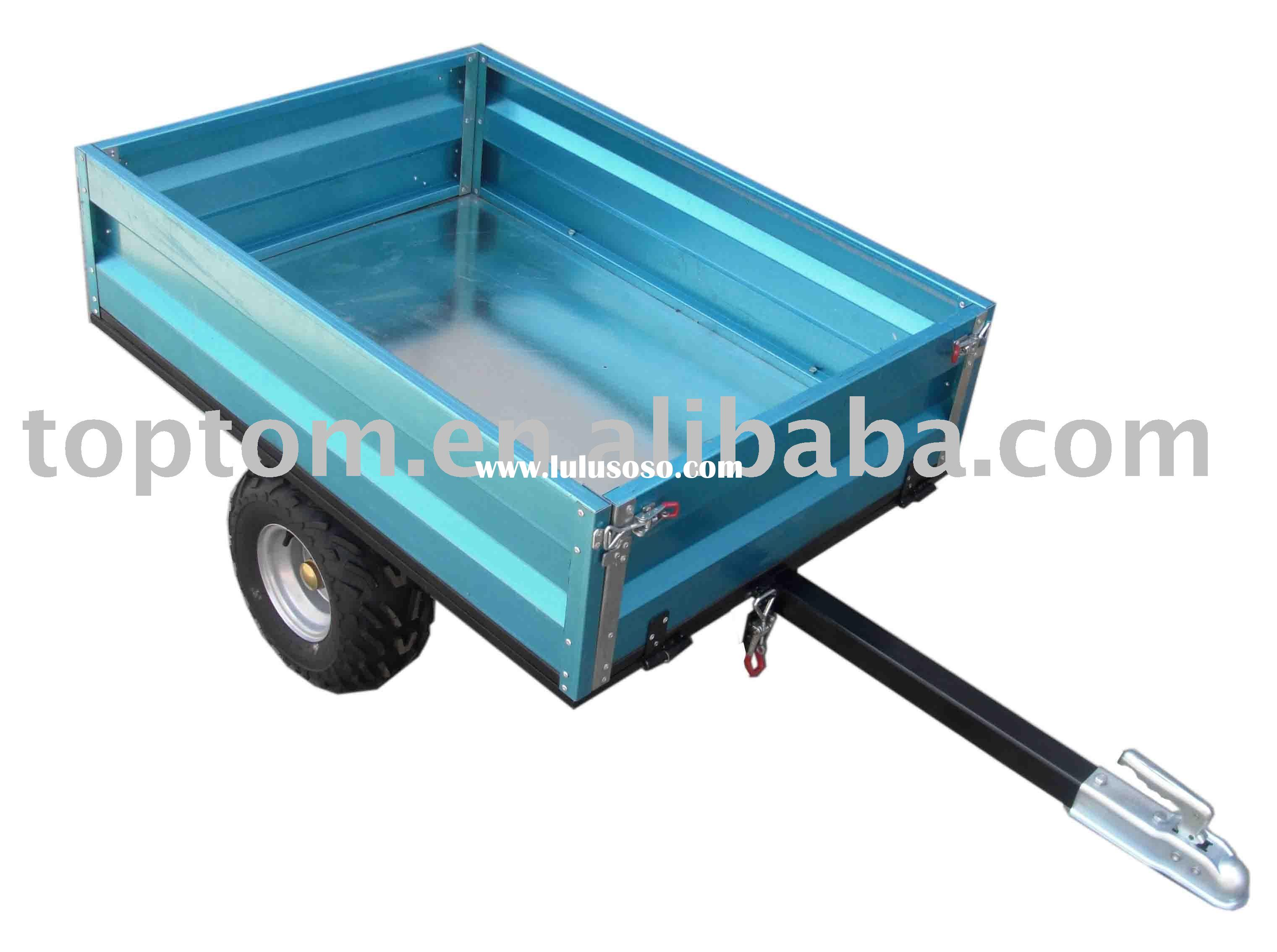 Mini ATV trailer. ATV trailer with tip. box trailer, small box trailer