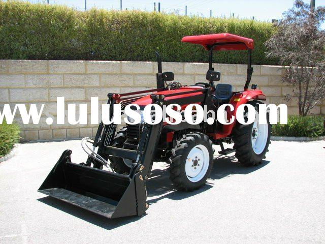 Mini Front end loader for Garden Tractor with Turf tyres