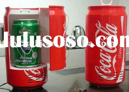 Mini USB Coca-Cola Fridge Refrigerator Beverage Drink Can usb cooler and warmer