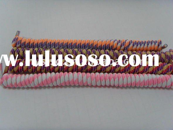 Mom's Greatest helper mixed-colour elastic spring shoelace