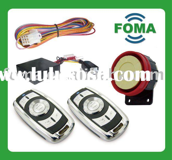 Motorcycle Alarm System with engine start