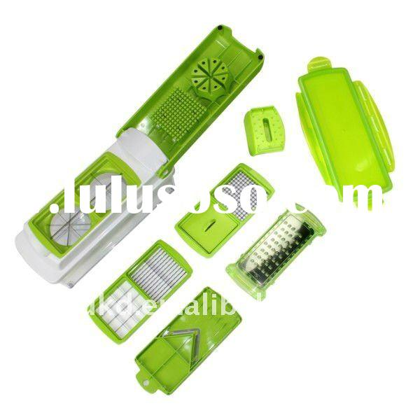 Multiple QVC TV manual vegetable nicer dicer plus