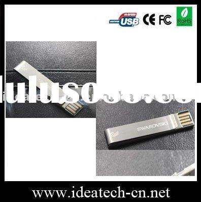 NEW metal clip usb flash drive, metal paper clip usb 1-64gb