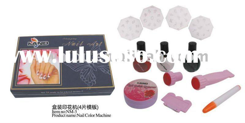 Nail Art Print Color Printing Stamp Polish DIY Machine