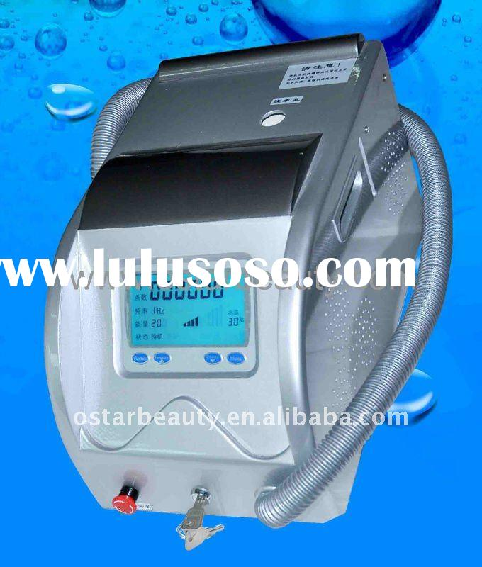 Nd yag laser tattoo removal equipment with pigment removal OB-TR 05