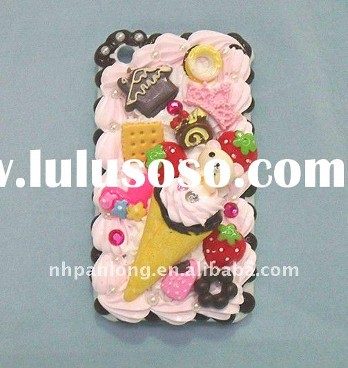 New arrival! Beautiful color cake cell phone shell,fashion food mobile phone housing