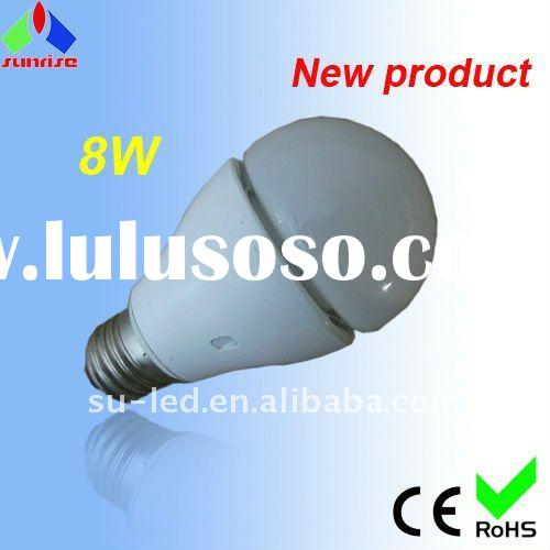 New series! high power 8w led indoor bulb lighting