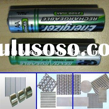 Nickel wire mesh for battery