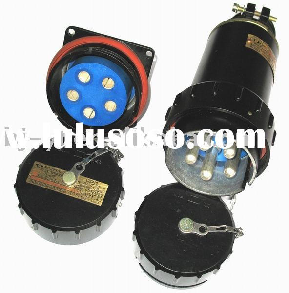 Non Sparking of 3 Phases 5 Wires Plug & Socket Electrical Connector