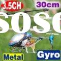 Novelty!! 30cm 3.5CH Metal Frame Gyro RC helicopter R/C toy 3.5channel airplane radio control plane