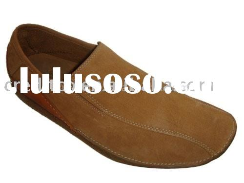 Nubuck Leather Upper Men's Casual Shoe