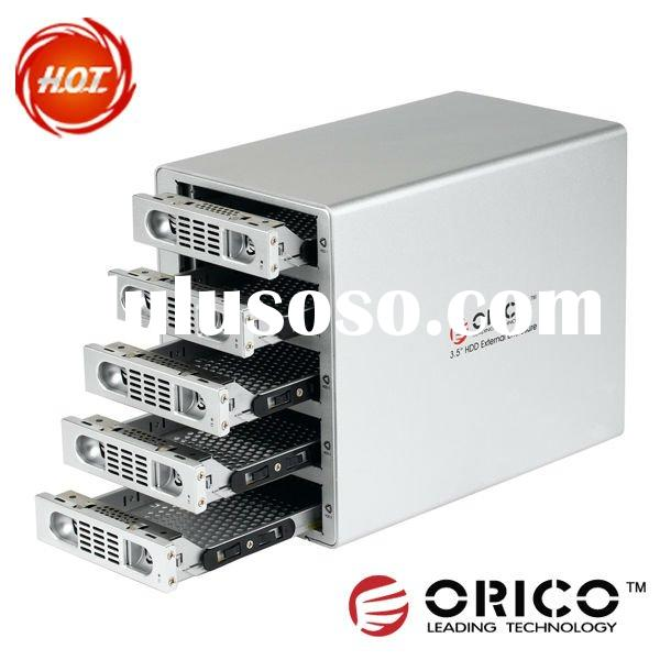 "ORICO 3559RUS3 5 bay 3.5"" Hard Disk RAID Enclosure Hard Drive RAID HDD Enclosure 3.0 eSATA Data"