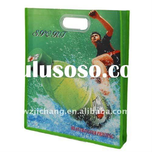PP non woven bag with Die Cut Handle