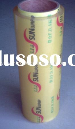 PVC meat cling film for wrapping
