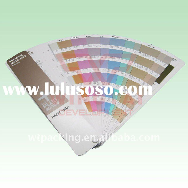 Pantone Metal Color Shade Cards GG1305