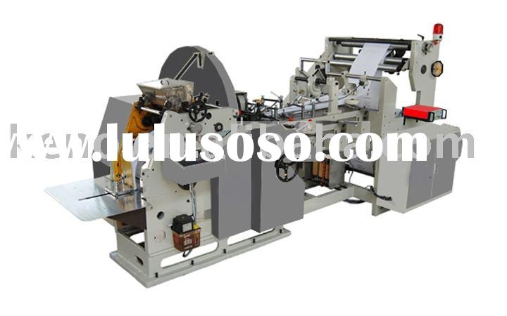 Paper bag making machine, full automatic paper bag making machine