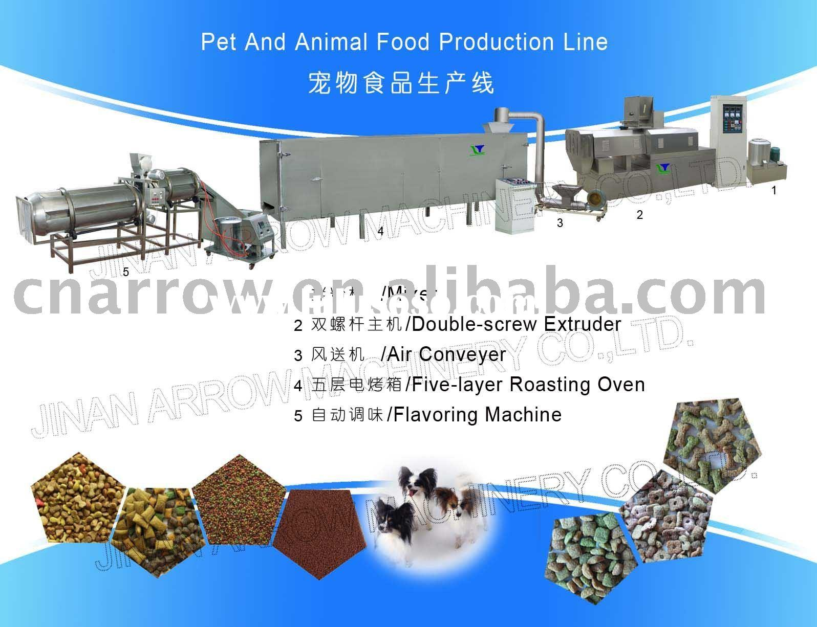 Pet/ fish feed/ dog food/ cat food/ animal food production line