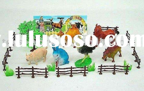 Plastic animal, farm animal, toy animal, dinosaur set, PVC animal, soft animal, PVC toy, puzzle anim