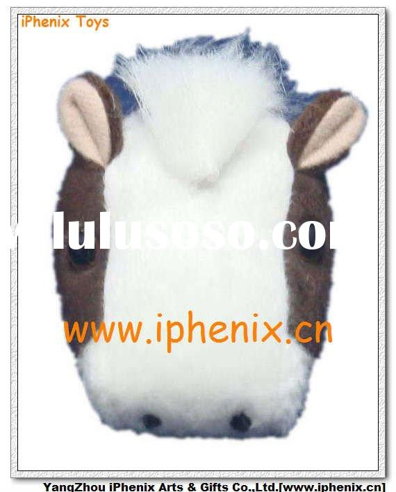 Plush & Stuffed Toys- Soft Toys Horse Head Keychain