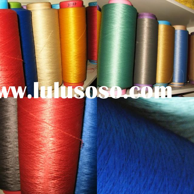 Polyester Colored Yarn,100% polyester yarn,color yarn