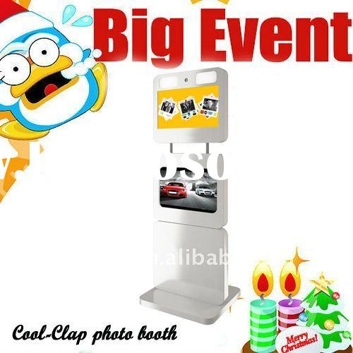 Portable LCD Touch Screen Easily Operated Exhibition Photo Booth
