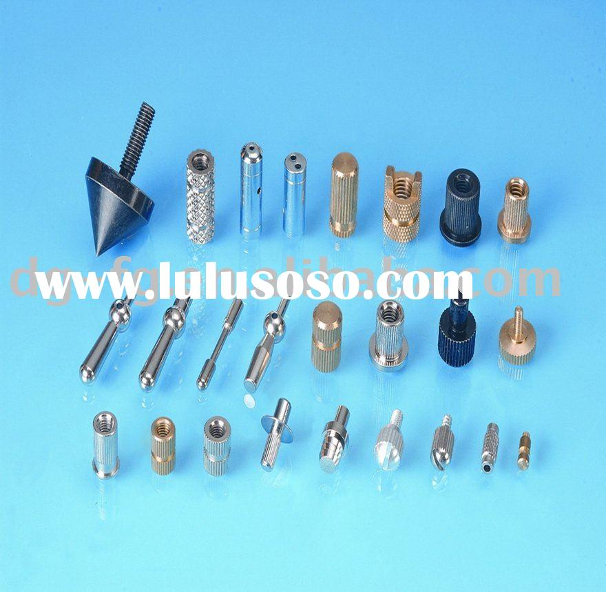 Precision metal cnc machining part screw/slot/stud/nut