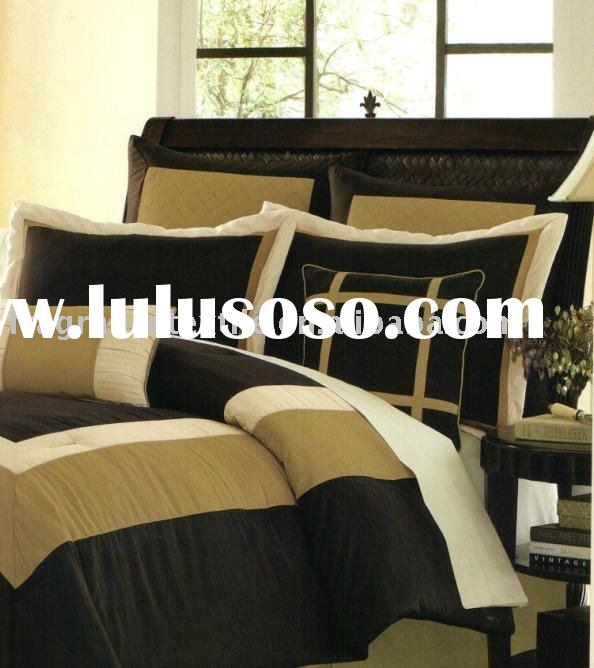 Printed T150 4pcs Comforter Set Bed in A Bag