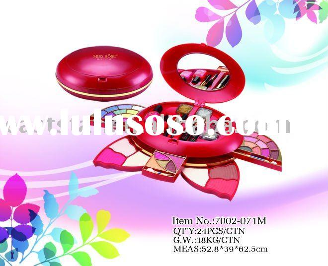 Profession make up kit with mirror Miss Rose 7002-071M