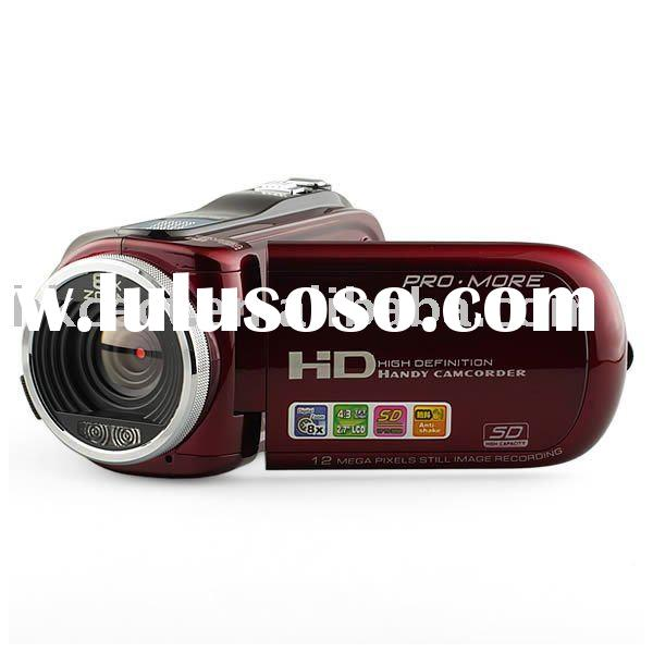 Professional digital video camera with HD720P