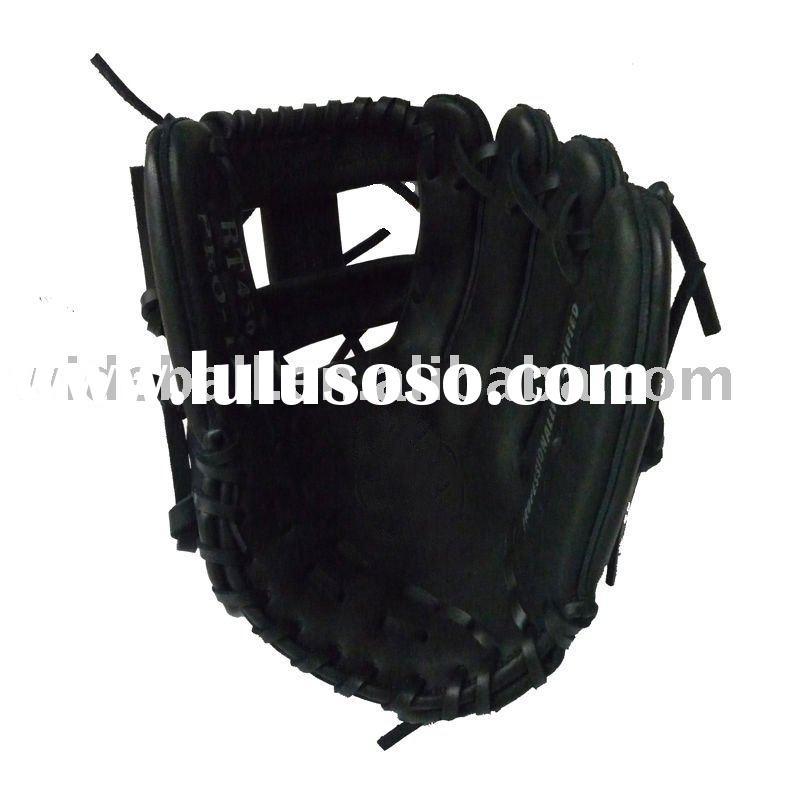 Professional leather baseball glove