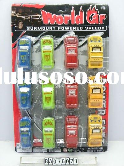 Pull Back Car, P/B Car Toy, Mini Plastic Car Toy