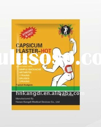 QS80002 muscle/back/joint/knee pain relief patch/Capsicum Plaster