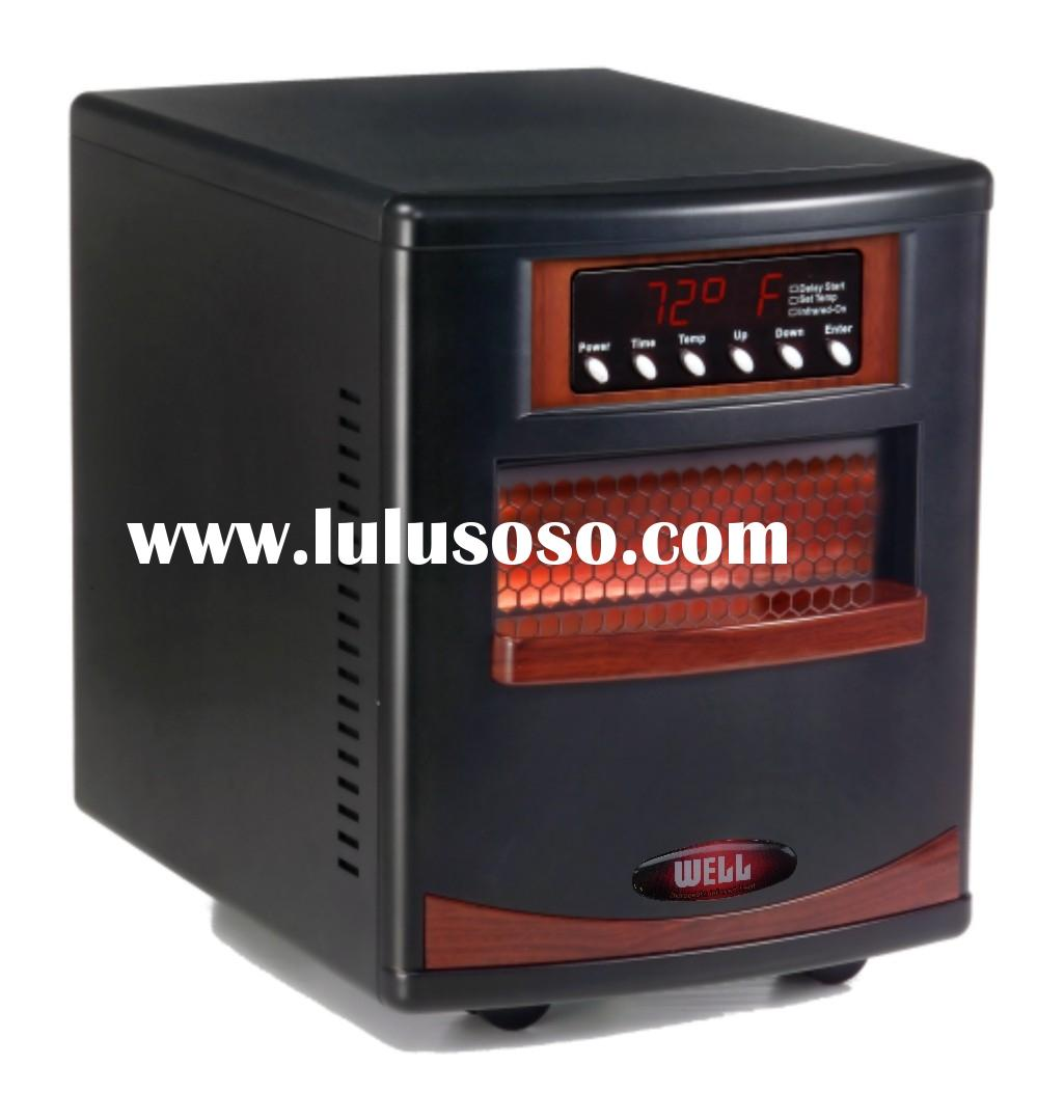 Quartz infrared portable heater