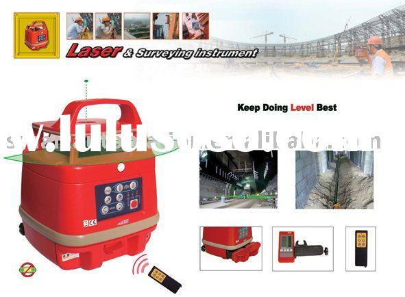 SP50G Automatic Self-leveling rotary Green Laser Level kit,