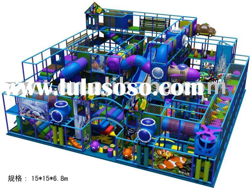 Sea World themed Playground equipment