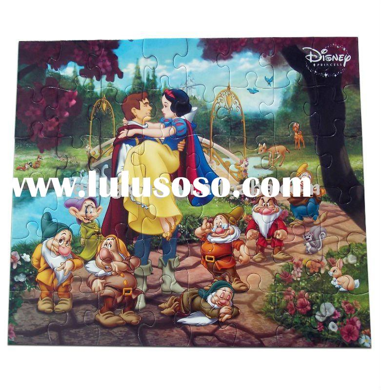 Snow White and the Seven Dwarfs jigsaw puzzle