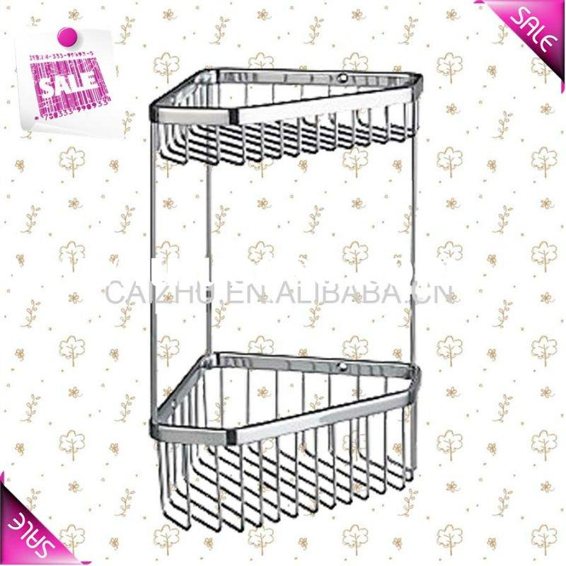 Stainless steel bathroom corner rack