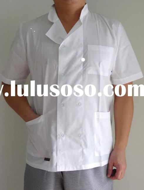 Summer Chef Jacket with Short sleeve