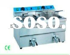 TEF-12L-2 Deep fryer industrial donut fryer