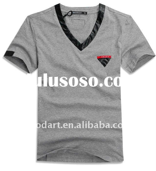 TT154 100 cotton gray t shirt boys printed shirts plain t shirts for printing