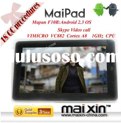 Tablet PC 10 inch Google Android 2.3 GPS WIFI 3G with HDMI,USB ports