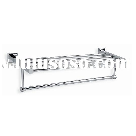 Towel rack ( bath towel rack , bathroom towel shelf )