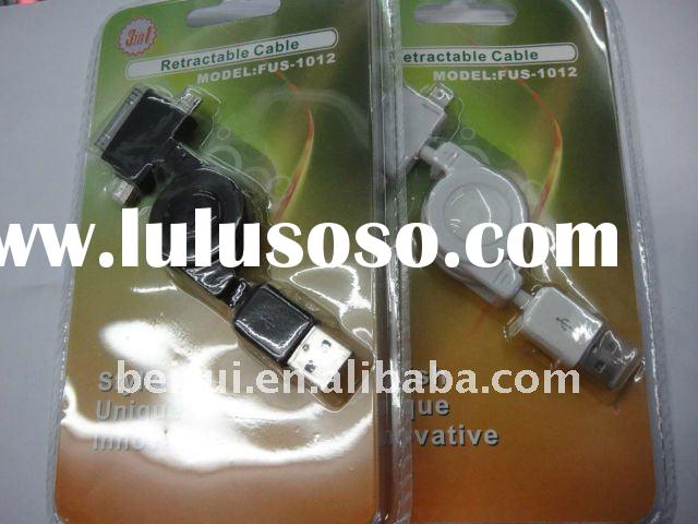 USB Cable compatible with iphone ,ipad ,blackberry and most mobile phones