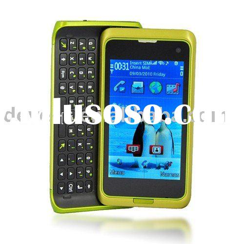 W98 mobile phone 3.0 Inch Dual SIM GSM Quad Band WiFi / TV / Java And QWERTY + Google Map