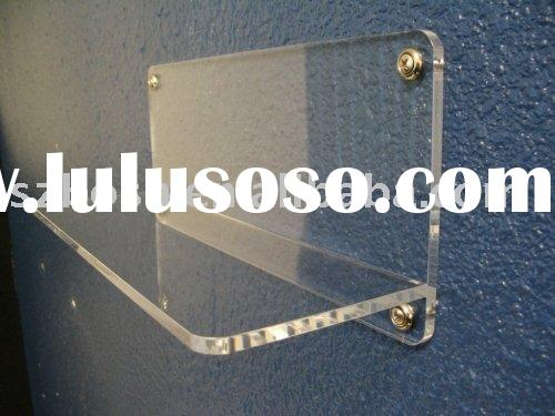 Wall Mounted Acrylic Book Display,Perspex Sanitary Stand,Plexiglass Shoes Holder