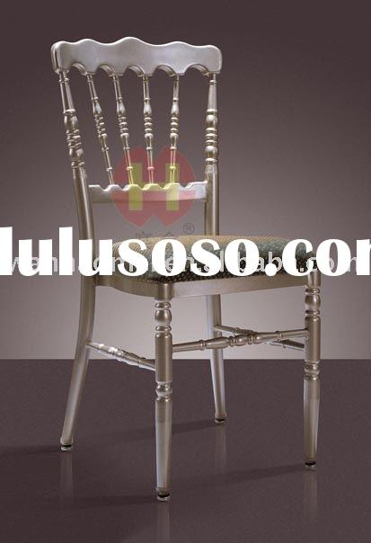 Weddding Aluminum Napoleon/chateau Chair Manufacturer