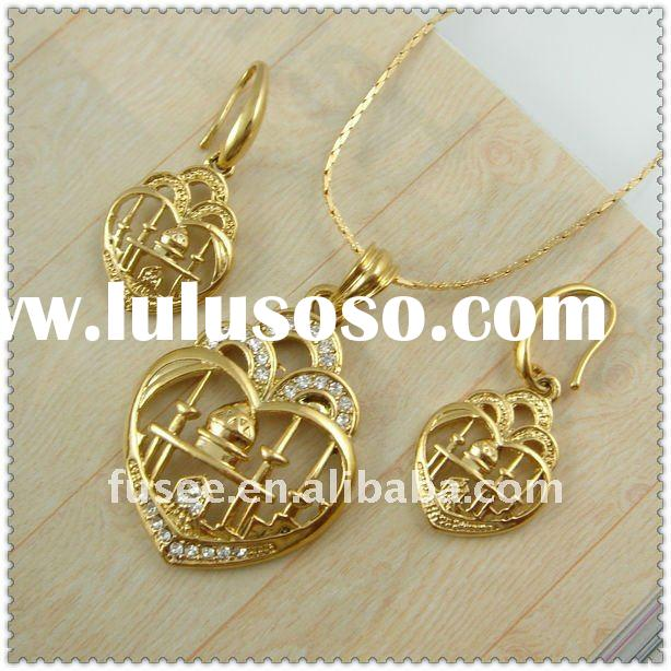 Wholesale 18K Gold Plating Muslim Series Fine Jewelry Set