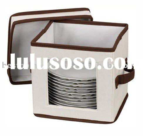 Window Vision China Storage Case/Box/Bin For Tableware